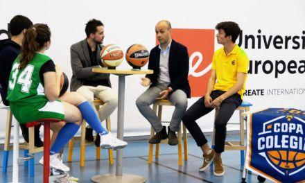 Debate: Baloncesto, estudios y educación. Copa Colegial en la Universidad Europea de Madrid