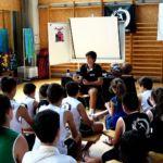 Entrenar, jugar y estudiar. Álvaro Jiménez. Campus JGBasket 2019