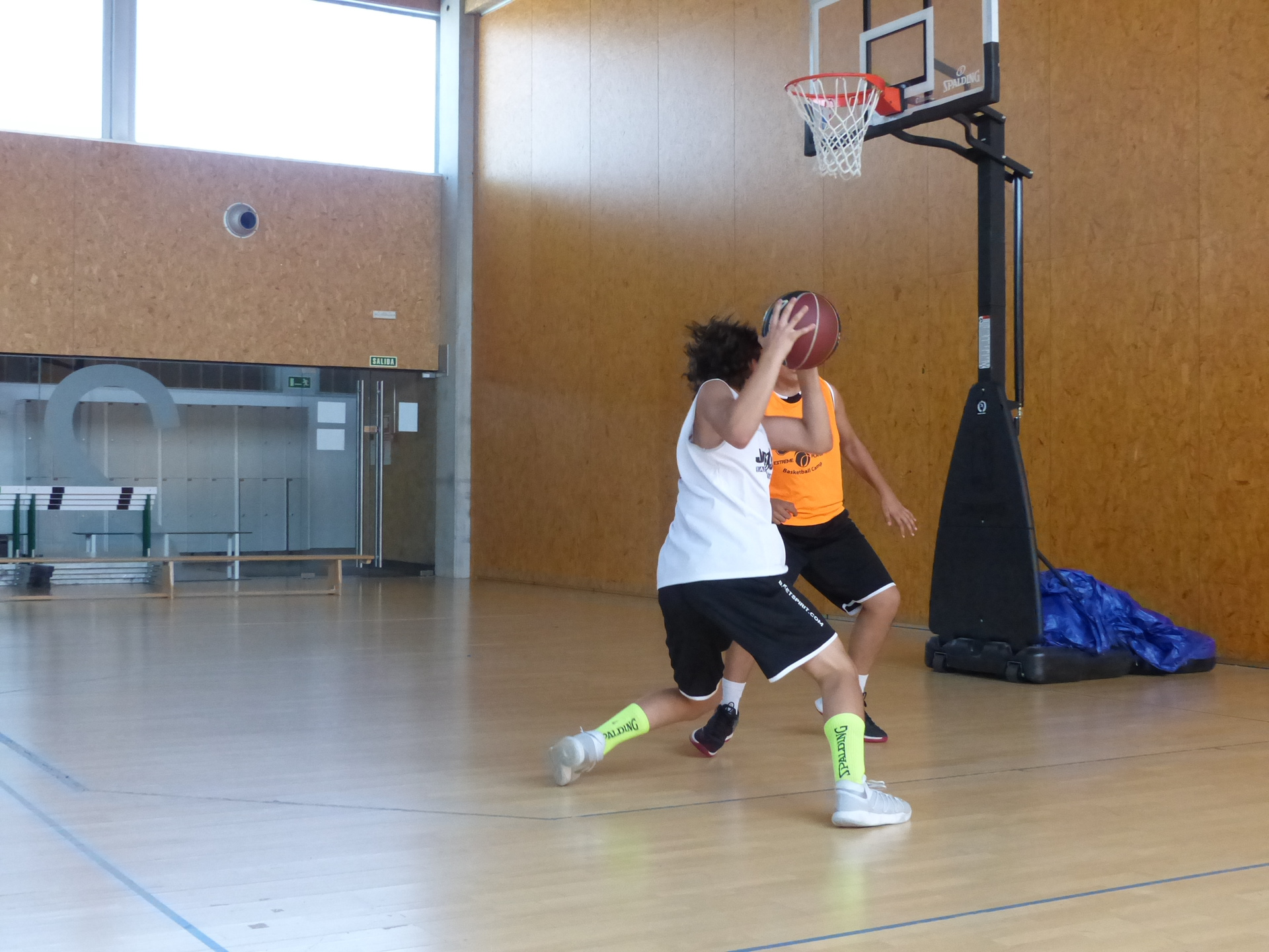 Consejos para el jugador de baloncesto: Las paradas