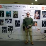 """Entrevista a Javier Balmaseda, autor del libro """"Fernando Martín, Instinto ganador."""" III SISB. Universidad Europea de Madrid"""