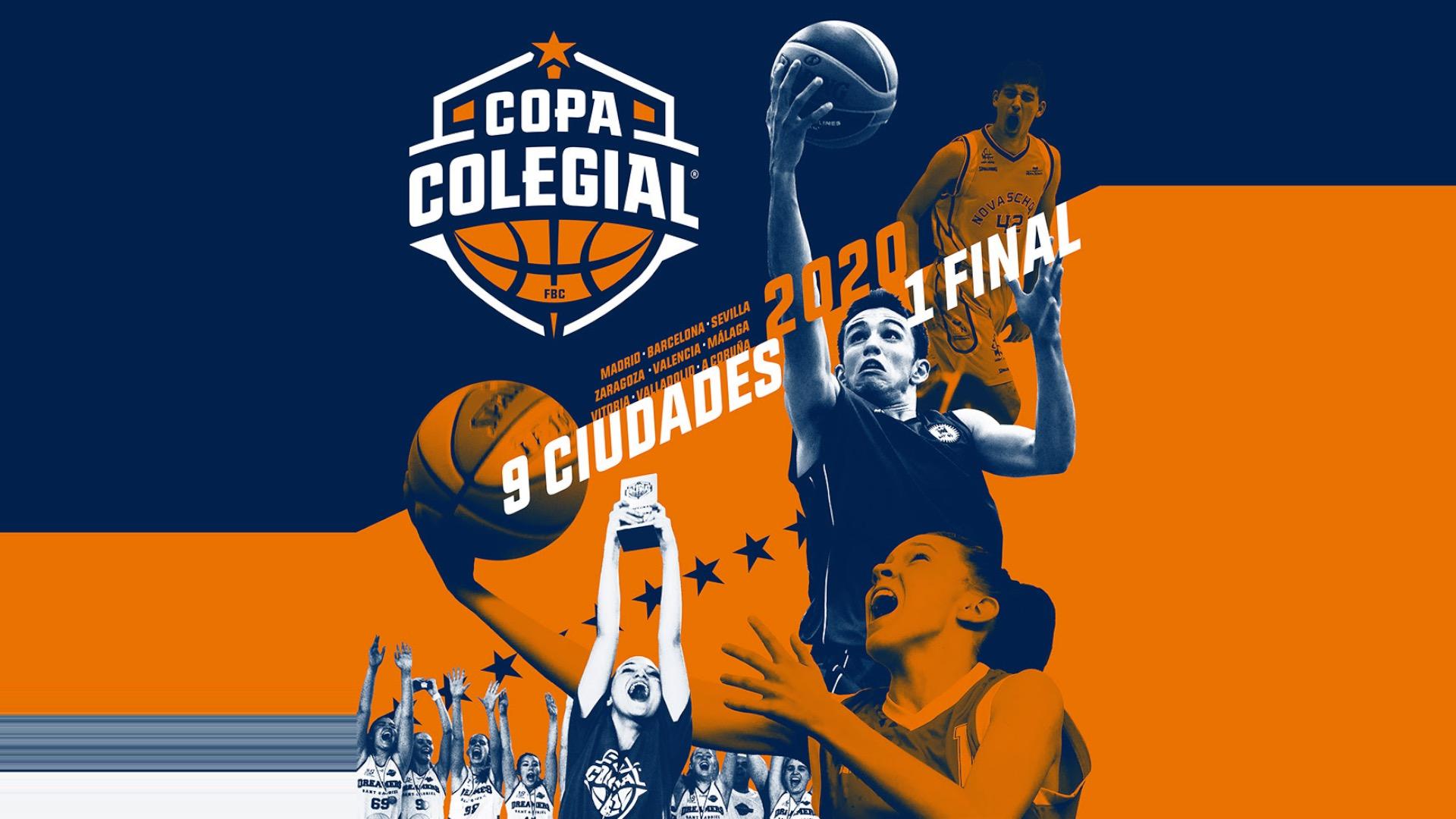 Presentación Copa Colegial Madrid 2020. Colegio Cabrini.