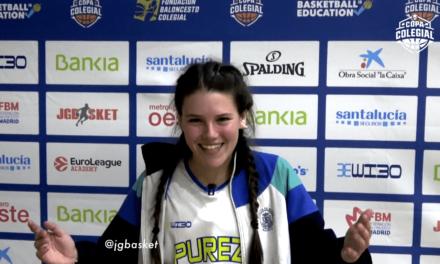 Highlights y entrevistas. Villaeuropa vs Pureza de María Femenino. Copa Colegial Madrid 2020