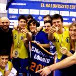 Imágenes inéditas celebración Final Copa Colegial Madrid 2019. Escolapios Pozuelo - Estudio