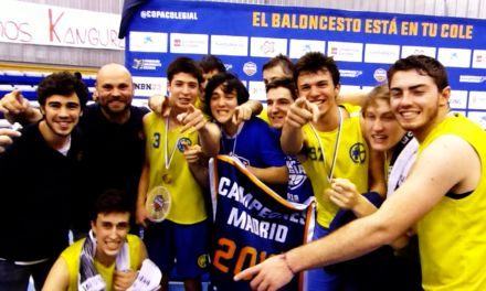 Imágenes inéditas celebración Final Copa Colegial Madrid 2019. Escolapios Pozuelo – Estudio