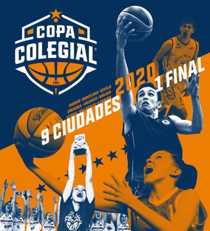 Copa Colegial 2020. Cartel