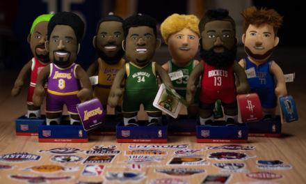 Regalos baloncesto chulos. Peluches de jugadores NBA de ayer, hoy y de siempre. Bleacher Creatures en Basketspirit