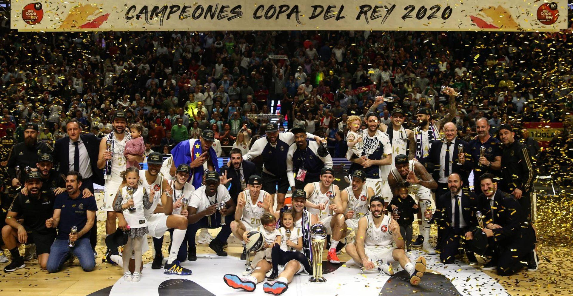 Copa del Rey 2020. El Real Madrid, campeón tras aplastar a Unicaja