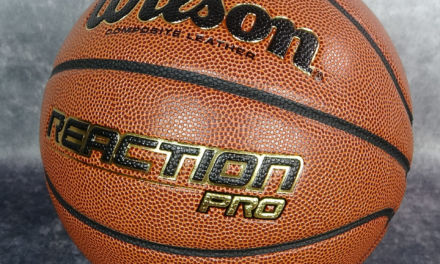 Wilson Reaction Pro. Pelota baloncesto uso indoor-outdoor de cuero composite con tacto y aspecto de toda la vida