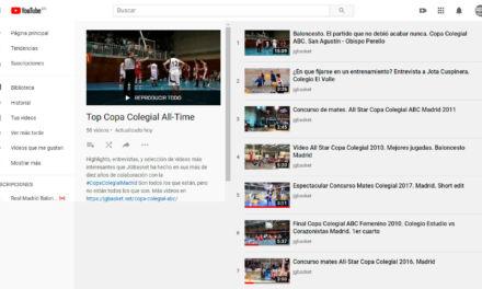 Selección de los mejores videos de la Copa Colegial desde 2010