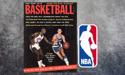 ¿Desde cuando aparece el logo de la NBA en las camisetas de los jugadores?