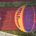 Nuestro balón de 3x3 y a tocar el cielo. Wilson 3c3 balón oficial juego FIBA