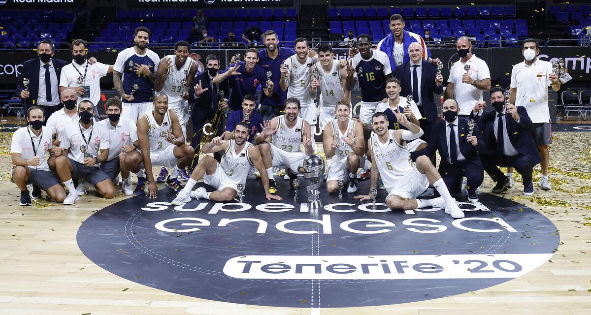 Supercopa Endesa 2020. Campazzo guía al Madrid a la séptima