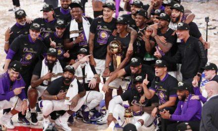 Los Lakers, unos campeones de leyenda