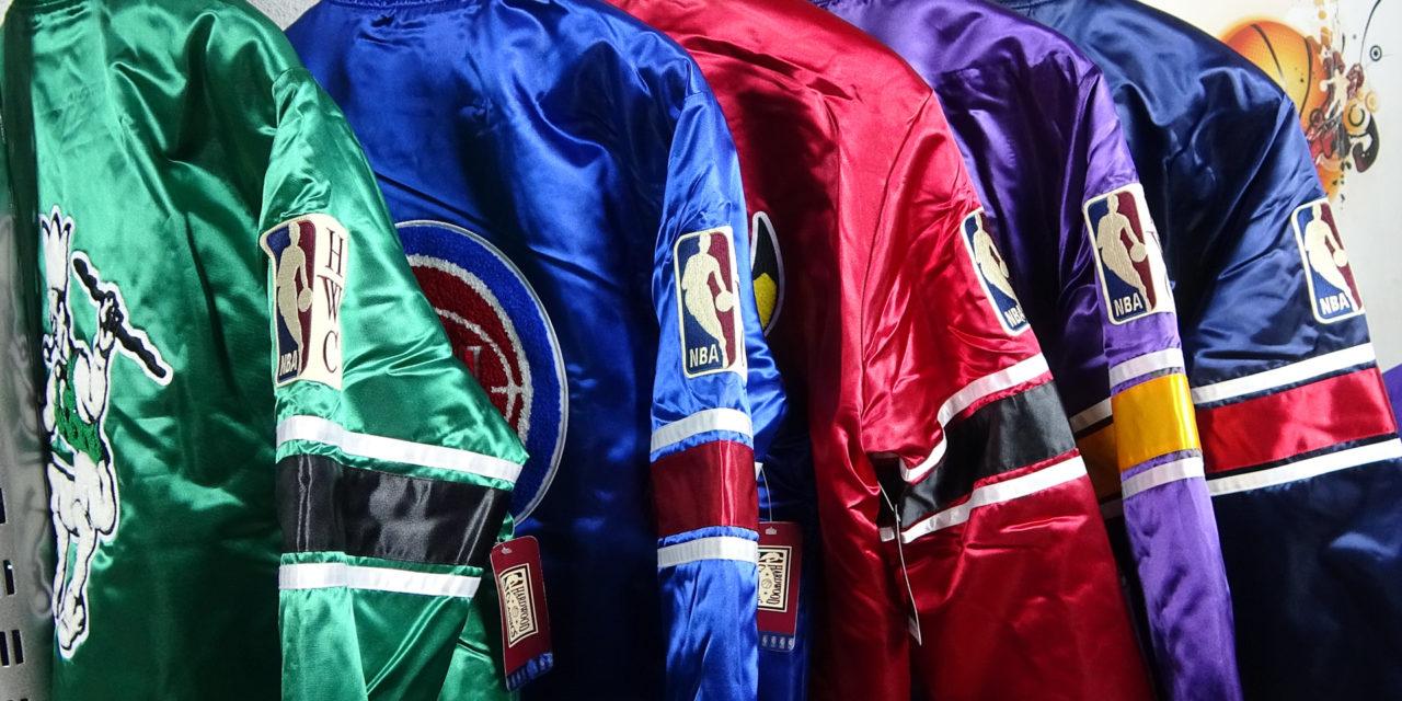Ideas para regalar esta Navidad. Chaquetas NBA Hardwood Classics.