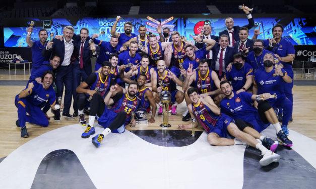 Copa del Rey 2021. Una final claramente azulgrana. FC Barcelona campeón.