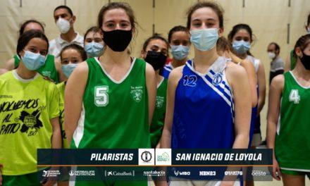 Video: Pilaristas vs Los Sauces Torrelodones femenino. Octavos Final Copa Colegial Madrid