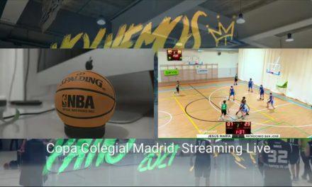Copa Colegial Madrid. Streaming Live. Viernes 18:00 horas.